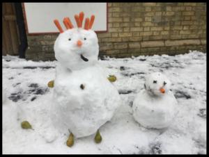 Snowman competition Feb 2019