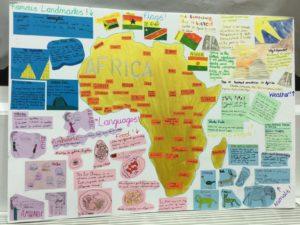 Continents Display April 2019