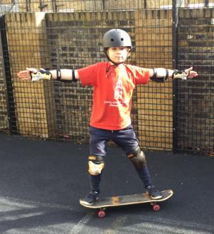 Try Something New: Skateboarding October 2019