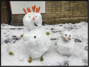 Snowman competition Feb 2019