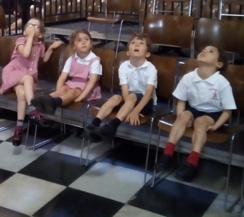 Reception and Year 1 to St Pauls Cathedral July 2019