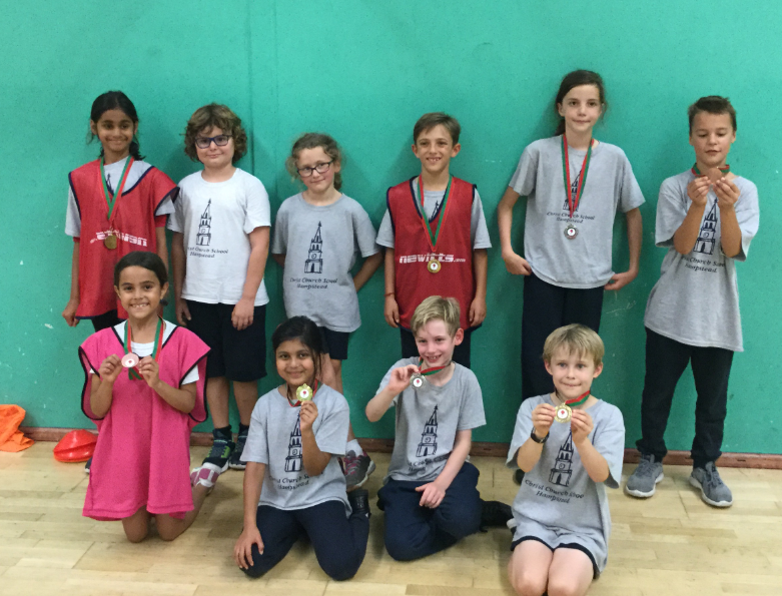 Year 4 Dodgeball September 2019