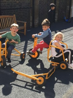 School group: Week 1 - fun in the playground March 2020