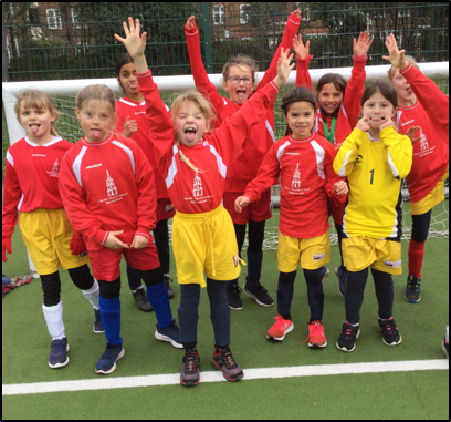 Y3 & Y4 Girls Football March 2020