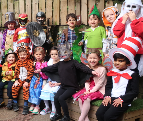 World Book Day Dressing up March 2020