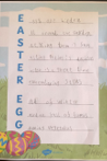Y1 Easter Poem April 2020