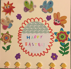 Y4 Easter Cards For Henderson's Court April 2020