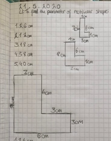 Y4 Perimeter and Fractions May 2020