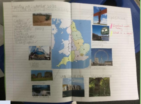 Geography Map Work October 2020