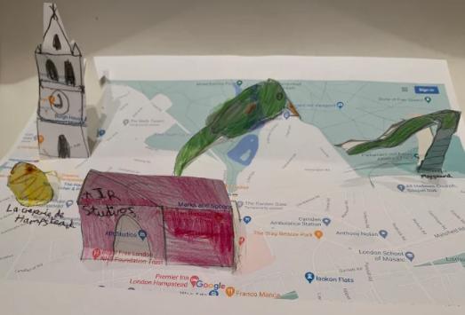 Y4 Art Illustrated Maps Jan 2021