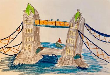 Y5 Art River Thames Jan 2021