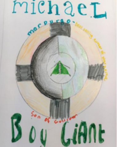 Y6 Book Covers and Blurbs Jan 2021