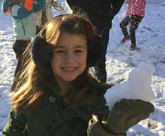Snow fun at school! Jan 2021