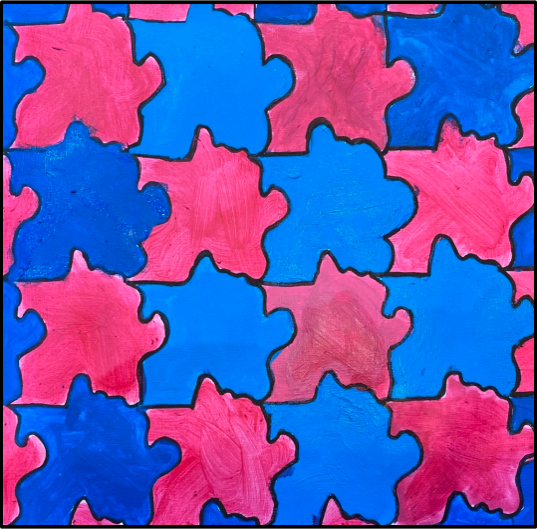Y6 Art Tessellation Feb 2021