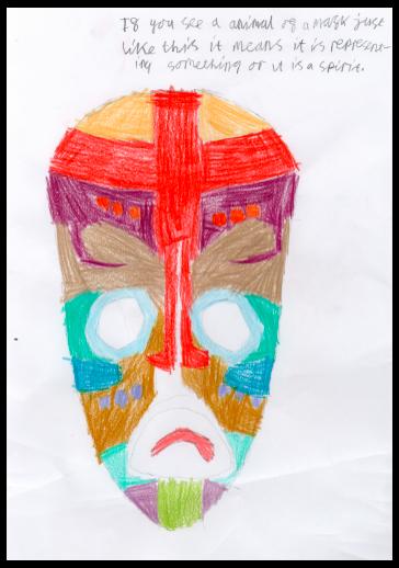 Y6 Art African Masks Feb 2021
