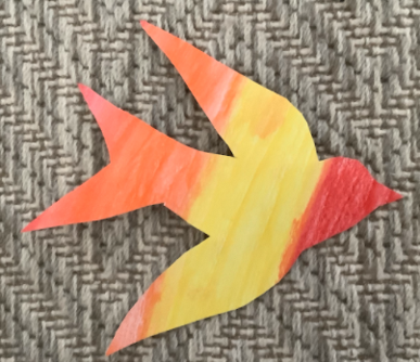 Y6 Arts Projects Birds March 2021