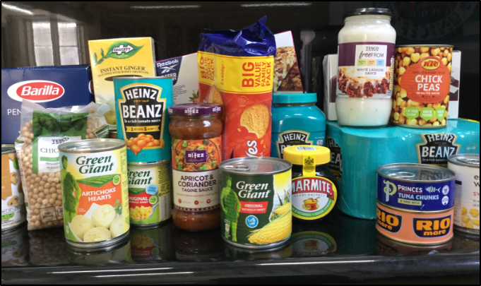 Harvest Collection for Muswell Hill Soup Kitchen Sept 2021