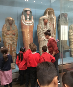Y3 Ancient Egyptians at The British Museum Oct 2021